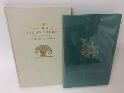 Lot 29 - Evelyn Ansell - Twenty Five Poems, also Poems from the Works of Charles Cotton, illustrated by Claud Lovat Fraser. (2)