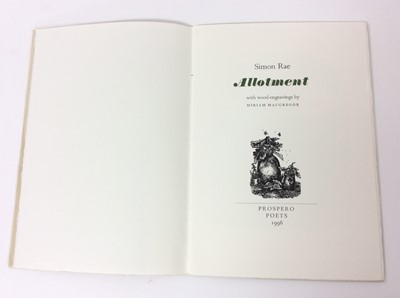 Lot 37 - Miriam Macgregor - The Engraver's Cut, and two others by the same Miriam Macgregor. (3)