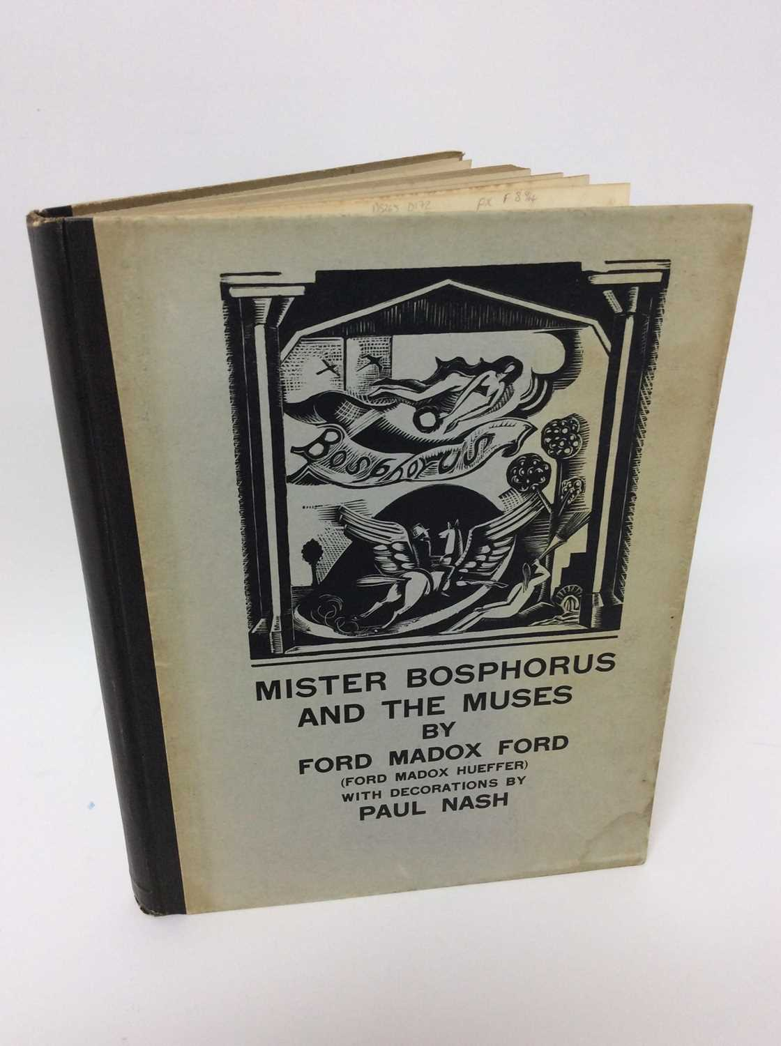 Lot 38 - Ford Madox Ford - Mister Bosphorus and the Muses, 1st edition