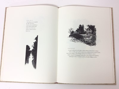 Lot 41 - The Locks of the Oxford Canal, with fifty wood engravings by John Craig