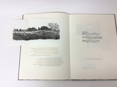 Lot 45 - John Craig - Britten's Aldeburgh, Whittington Press, 1997, signed and numbered 135 of 440 copies, slip case