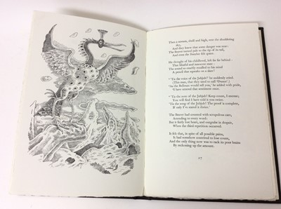 Lot 49 - Lewis Carroll - The Hunting of the Snark, Whittington Press 1975, 404/750