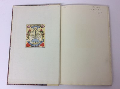 Lot 52 - Christopher Whitford - Together and Alone, Golden Cockerel Press 1945, two others