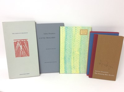 Lot 56 - Gunnar Brusewitz - The Amazing Miss Brooke, together with three further private press publications