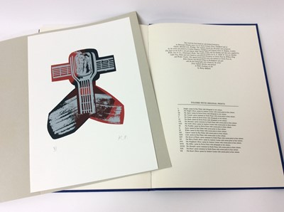 Lot 58 - Geoffrey Chaucer and Ronald King (British b.1932) - The Prologue, From the Canterbury Tales