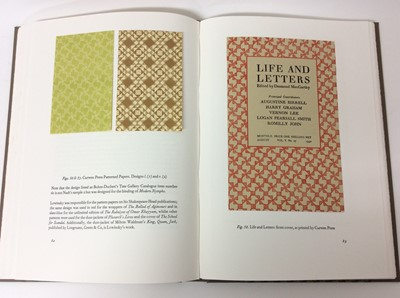 Lot 59 - Thomas Lowinsky (1892-1947) by Colin Myers, Incline Press 2001