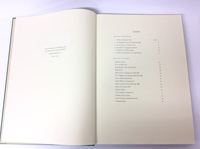 "Lot 60 - John Ridgwell ""Fine Papers at the Oxford University Press"", The Whittington Press 1999"