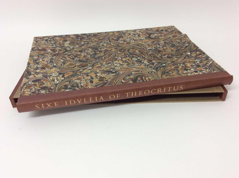 Lot 63 - Douglas Cleverdon: 'Sixe Idyllia' 1971