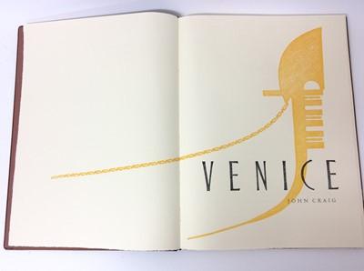 Lot 64 - John Craig - Venice, Whittington Press, 2015, 54/175