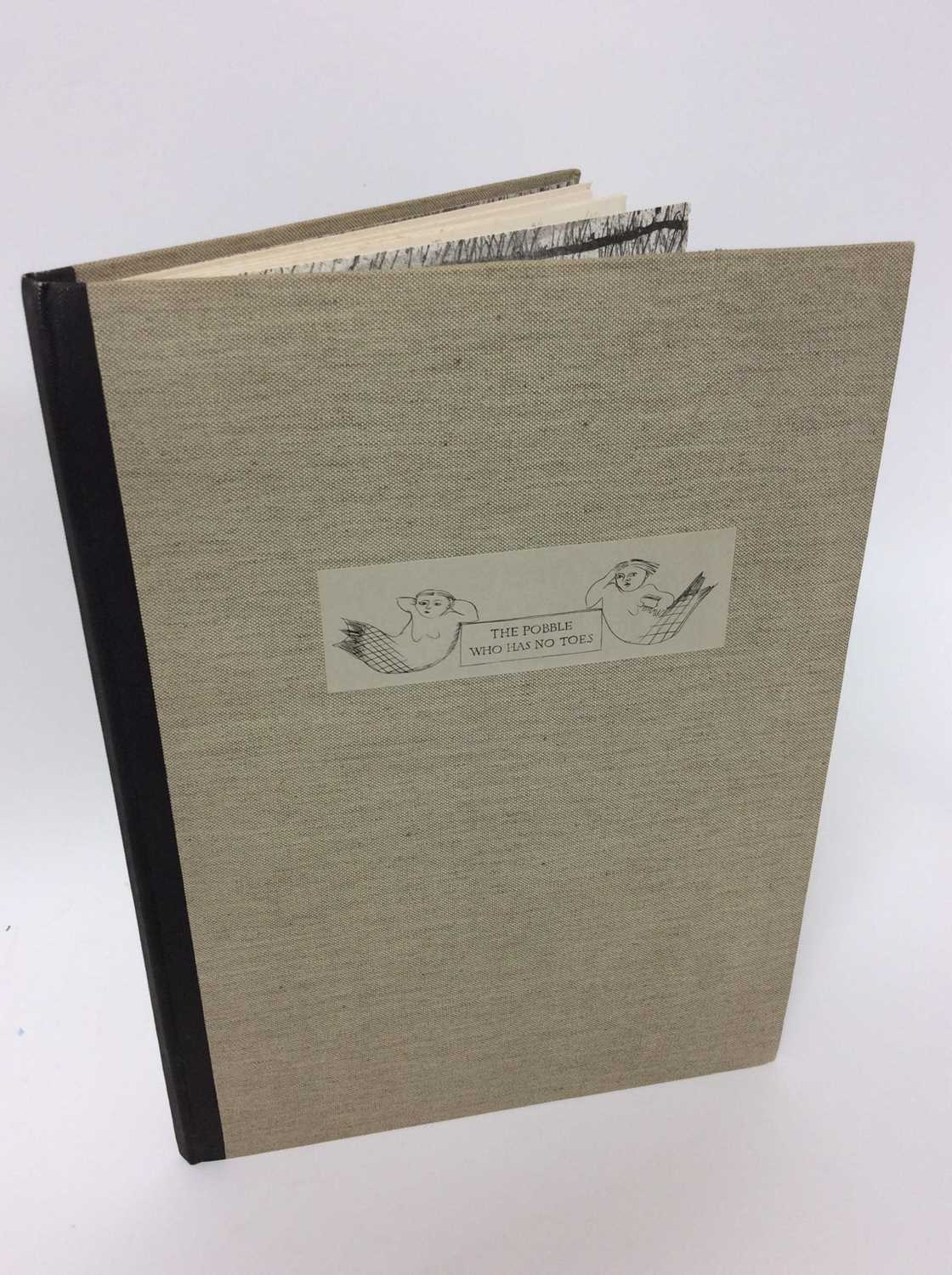 Lot 65 - Edward Lear 'The Pobble who has no toes' illustrated Margaret Lock