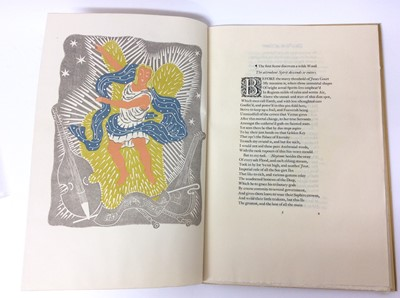 Lot 66 - John Milton and Henry Lawes - The Mask of Comus, Nonesuch Press 1937