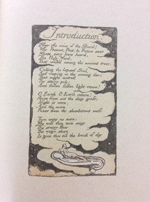 Lot 67 - William Blake - Songs of Experience, Songs of Innocence, together with Mr Kilburn's Calicos