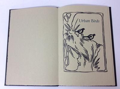 Lot 69 - Jo Spaul - Urban Birds, Incline Press, three further private press books