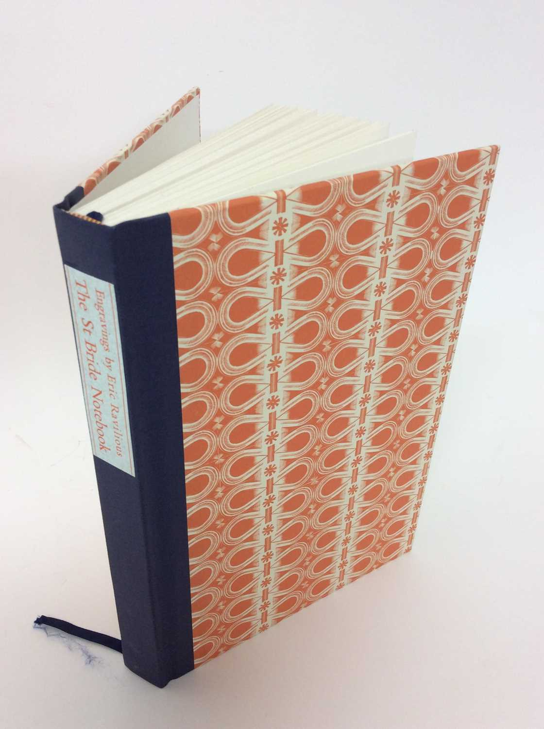Lot 70 - Caroline Archer and Robert Harling - The St Bride Notebook, with  wood engravings by Eric Ravilious., to celebrate the centenary of his birth, Incline Press 2003