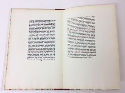 Lot 72 - John Petts and Johan Jones. Susanna and the Elders, numbered 23 of 400 copies