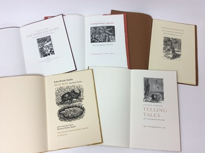 Lot 75 - Good collection of small edition Gruffyground Press publications (17)