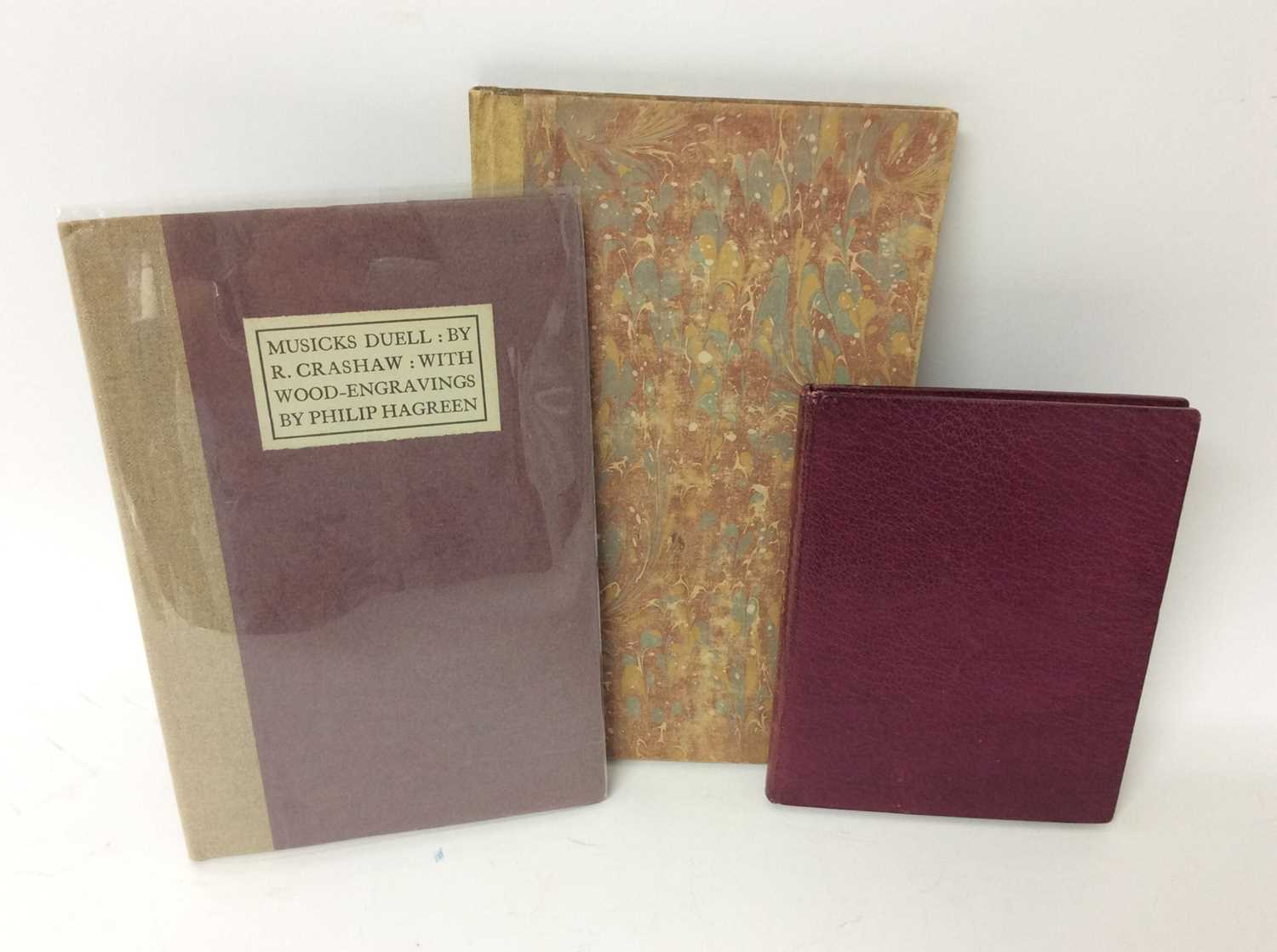 Lot 76 - Louis How - Narcissus, The Harbor Press 1928, two others