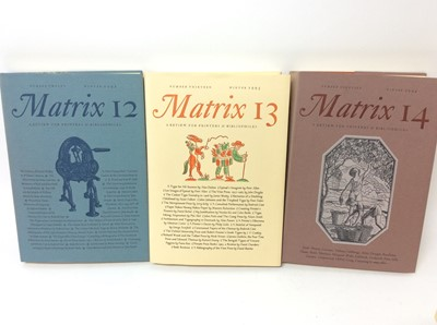 Lot 78 - The Whittington Press - Matrix, 24 volumes