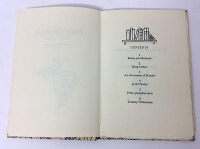 Lot 79 - Fame's trumpet, twenty rhymes, Lock's Press, Brisbane, 1982