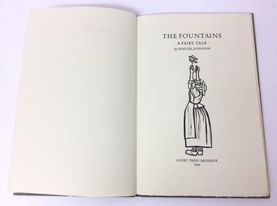 Lot 84 - Samuel Johnson - The Fountains, Lock's Press Brisbane 1984