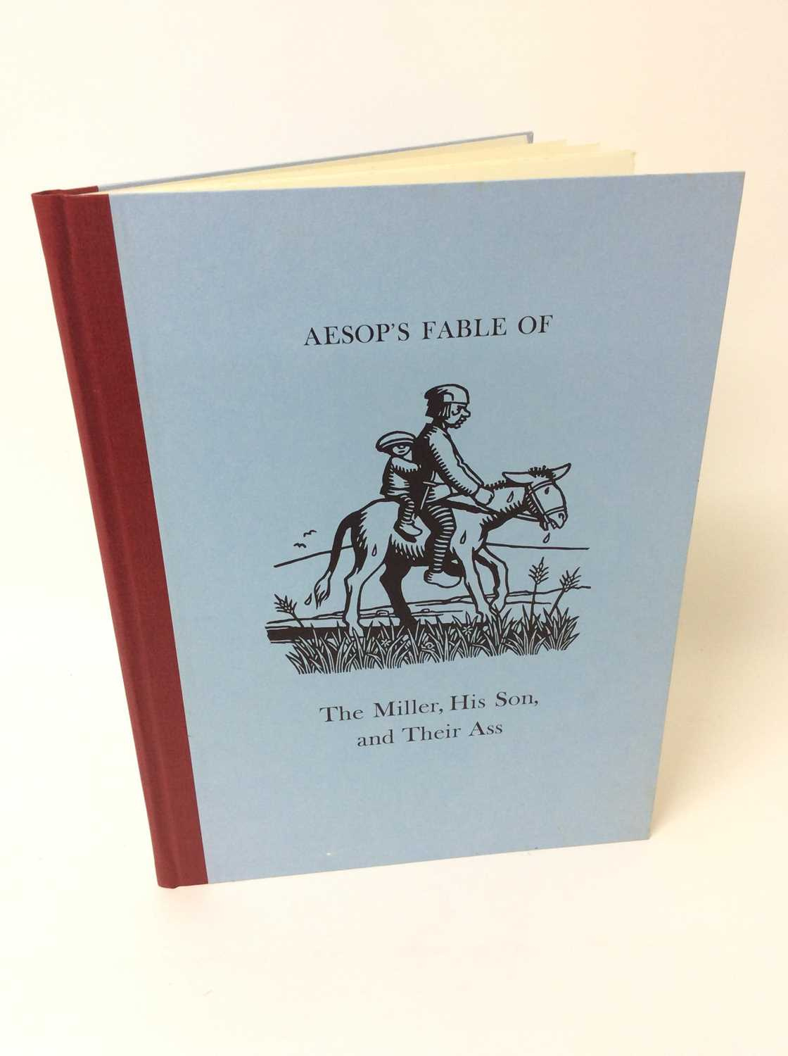 Lot 87 - Aesop's Fable - The Miller, his Son and their Ass, Incline Press, 2006