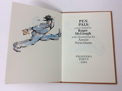 Lot 93 - Collection of five Prospero Poets publications