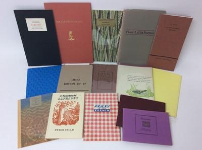 Lot 100 - A bundle of private press publications (15)