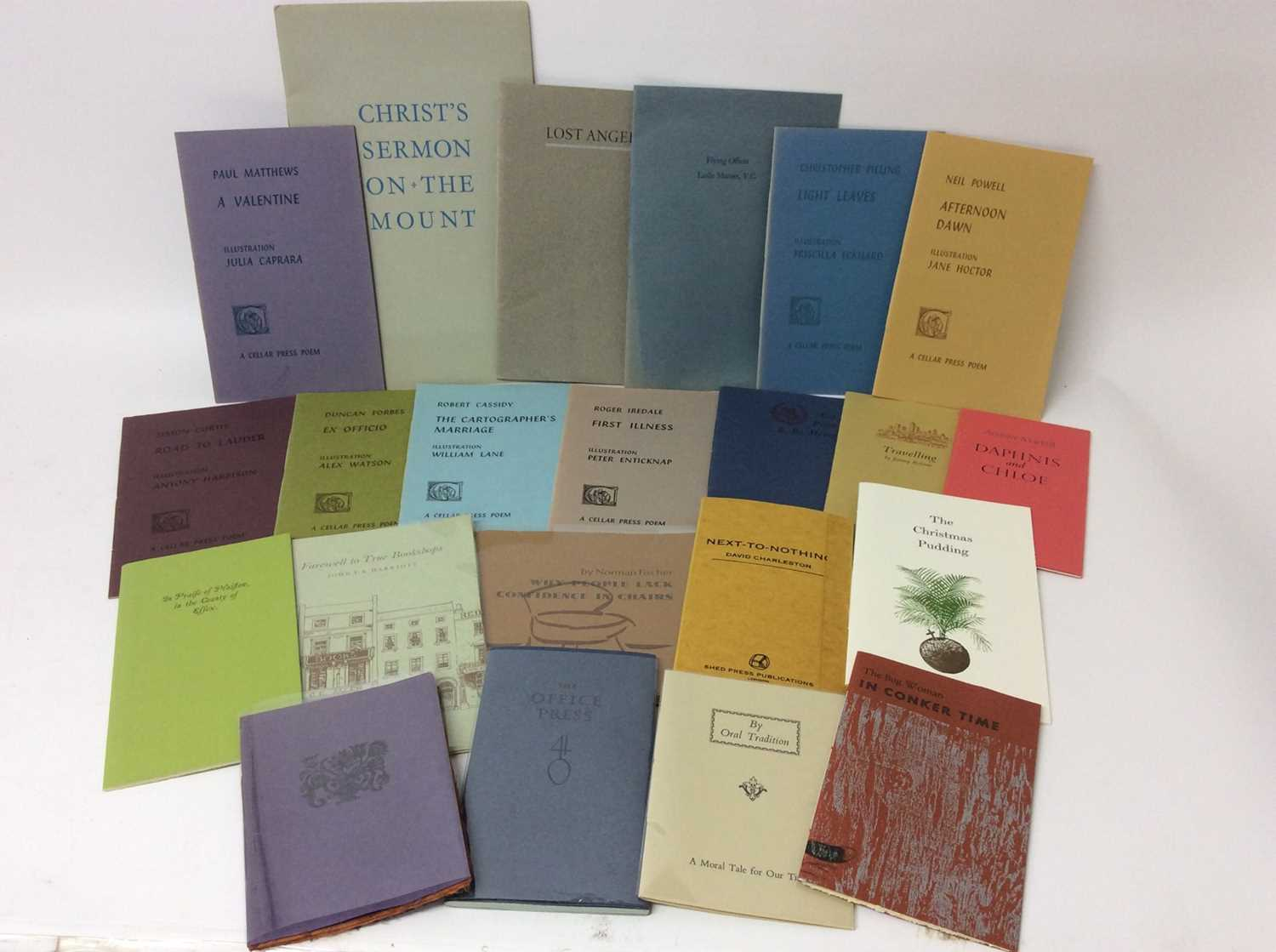 Lot 94 - A bundle of private press booklets