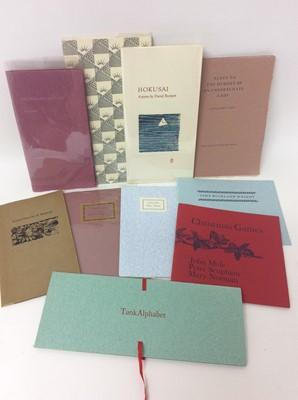 Lot 104 - A bundle of private press publications