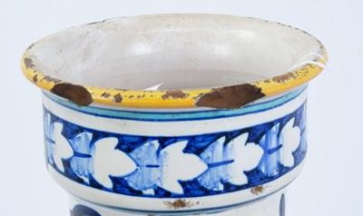 Lot 11 - 19th century Italian maiolica vase