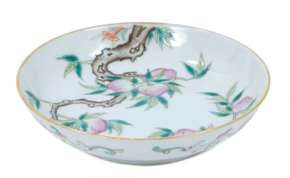 Lot 12 - Chinese saucer dish