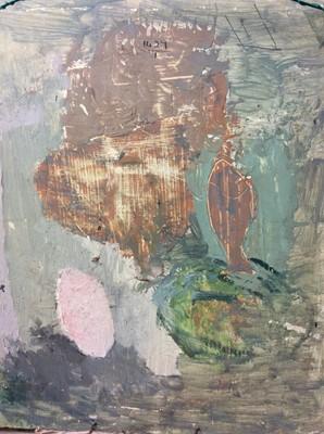 Lot 1700 - *Mary Potter (1900-1981) oil on board - The Terrace, 40cm x 35cm, framed