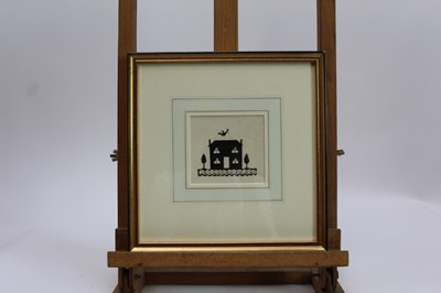 """Lot 1837 - *Ernest Howard Shepard (1879-1976) pen and ink - """"Oh but you'll stay in my house won't you?"""", in glazed gilt frame  Provenance: Chris Beetles Gallery"""