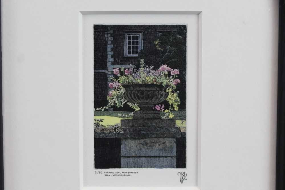 Lot 1788 - Anthony Dawson signed limited edition etching - Evening Sun, 31/80, in glazed frame  Provenance: Thompson's Gallery
