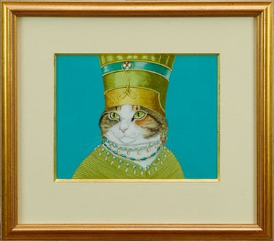 Lot 1785 - Susan Herbert (1945-2014) watercolour - Polly As Amneris, signed, in glazed gilt frame  Provenance: Chris Beetles Gallery