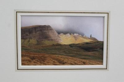 Lot 1774 - *Peter Collyer (b.1952) watercolour - The Stor, Skye, in glazed gilt frame  Provenance: Chris Beetles Gallery