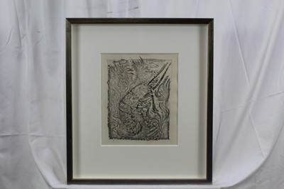 Lot 1853 - Pablo Picasso (1881-1973) aquatint, etching and drypoint - Prawn, unsigned, edition of 226, in glazed frame  Provenance: Goldmark Gallery