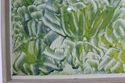 Lot 1799 - *Robert Sadler (1909-2001) signed monotype print - Foliage, in glazed frame