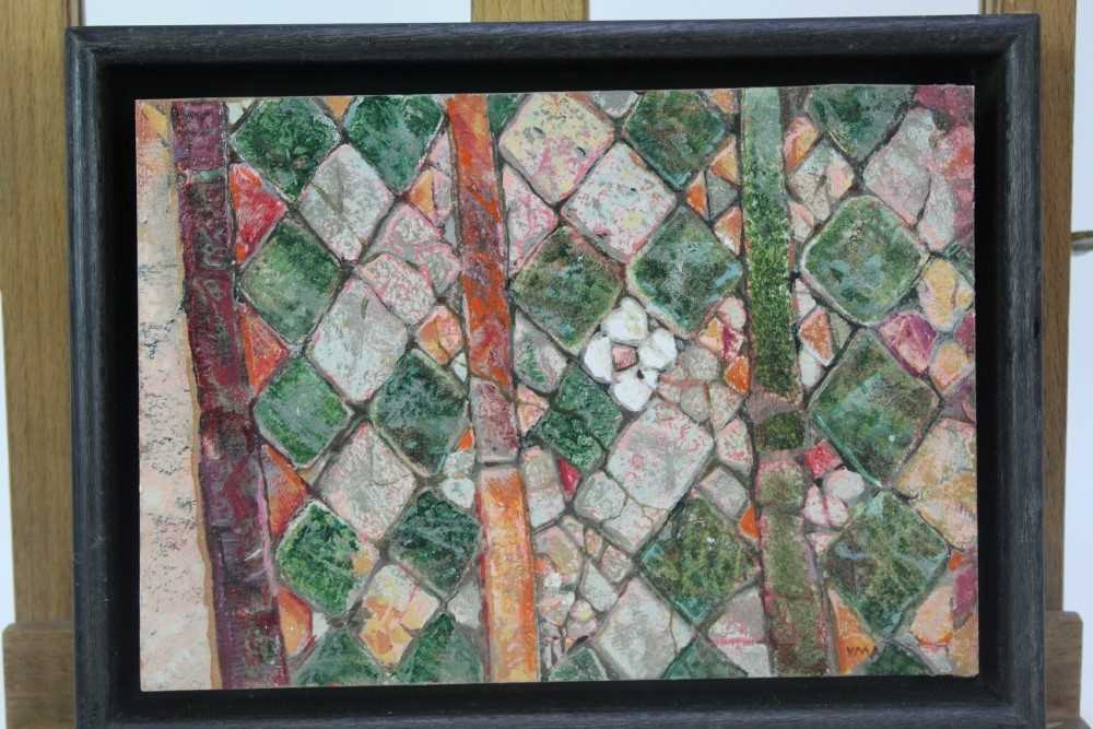 Lot 1870 - Val Archer (b. 1946) oil on paper - Magherita, initialled, framed  Provenance:  Chris Beetles Ltd, London