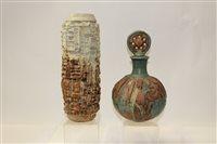Lot 1010 - Bernard Rooke studio pottery decanter and...