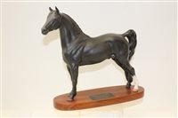 Lot 1013 - Beswick Connoisseur model - Morgan Horse, on...