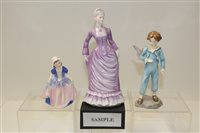 Lot 1024 - Royal Worcester figure - The Parakeet 3087 and...