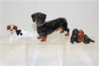Lot 1026 - Two Royal Doulton dogs - HN1101 and HN1128 and...