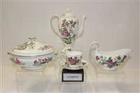 Lot 1030 - Wedgwood Charnwood pattern tea and dinner...
