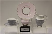 Lot 1033 - Royal Doulton Valleyfield H4911 pattern tea...