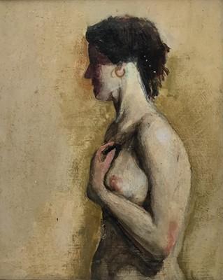 Lot 49 - 20th century oil on panel nude study