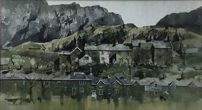 Lot 24 - Malcolm Edwards (contemporary) watercolour, Welsh landscape