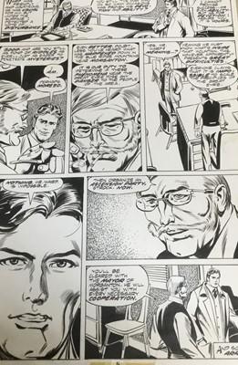 Lot 10 - Comic Book Interest: original pen and ink illustration for Marvel Classics, 40 x 27cm