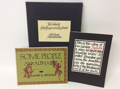 Lot 113 - E. M. Clarke, three limited edition publications