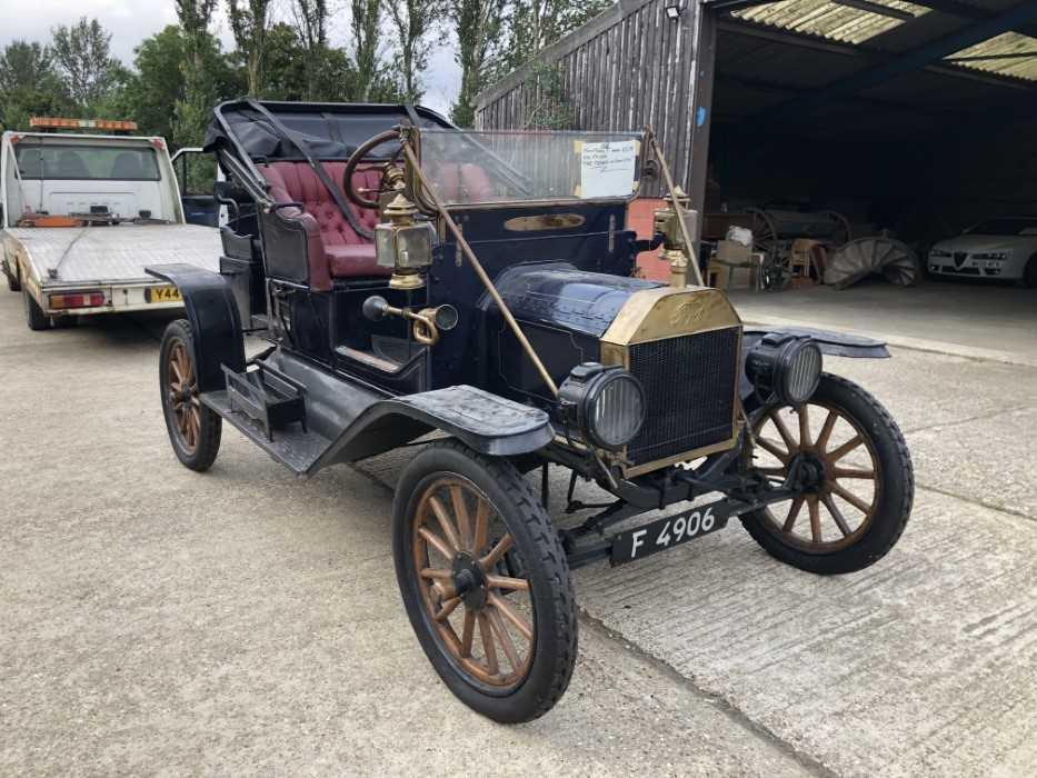 Lot 1 - 1911 Ford Model T , Registration F4906